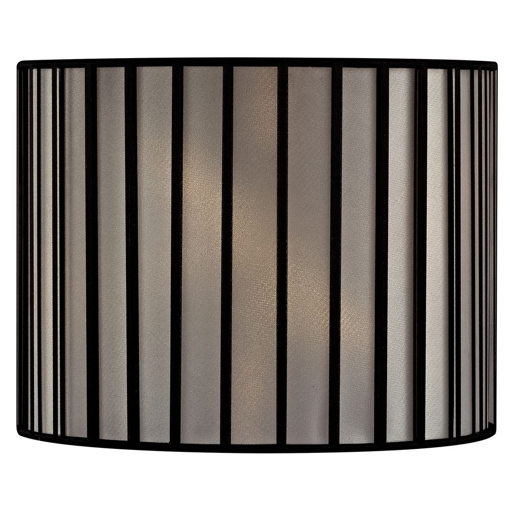 Drum Lamp Shade With Spider Embly Shades Black