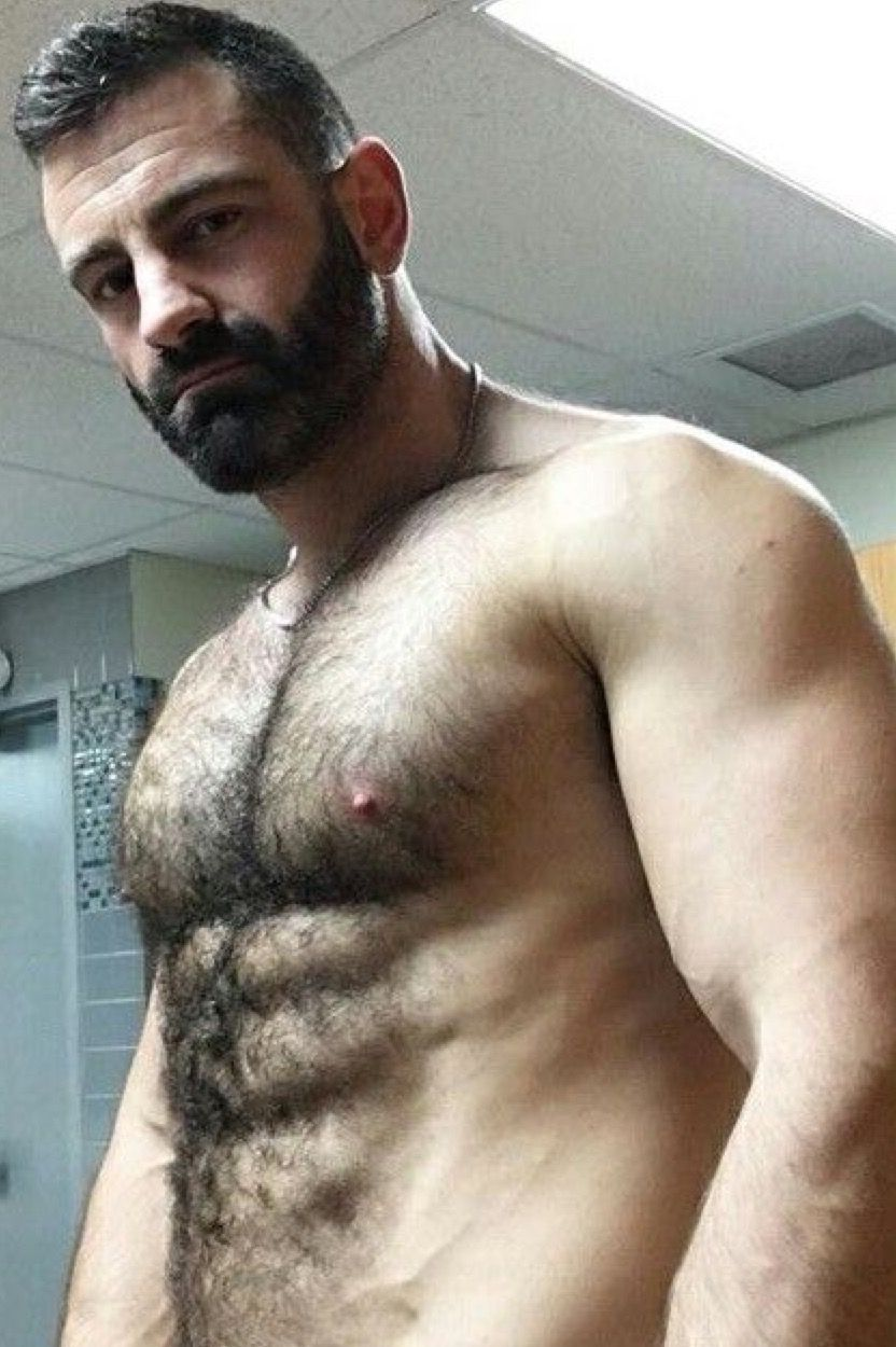 men Hairy hot
