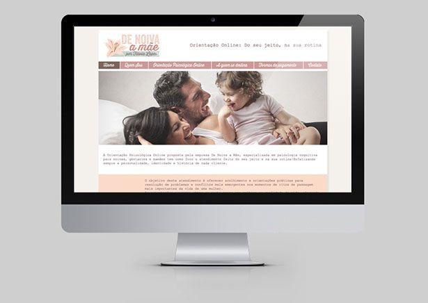 De Noiva a Mãe | AL Design & Branding