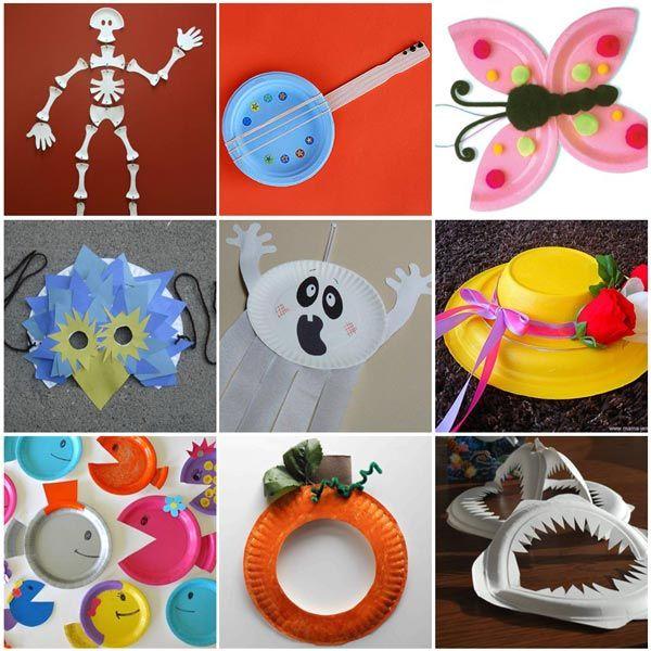 plus de 20 id u00e9es de craft avec des assiettes en papier