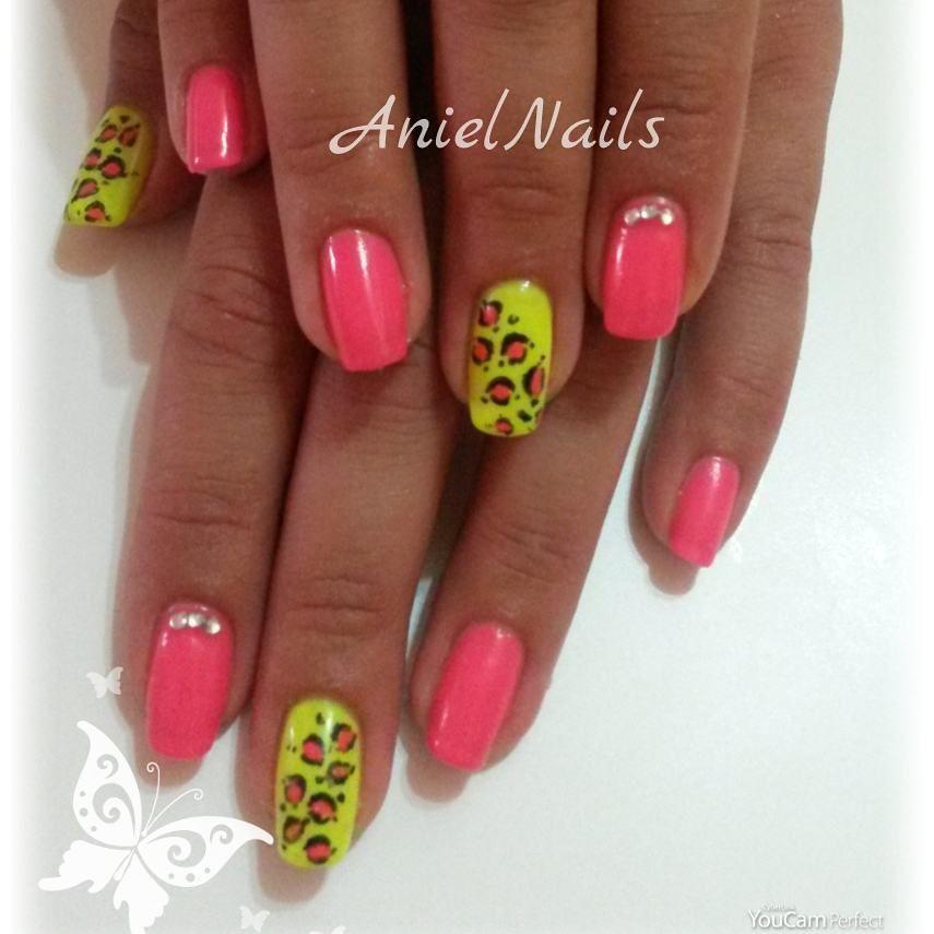 Bellissima nail art maculata