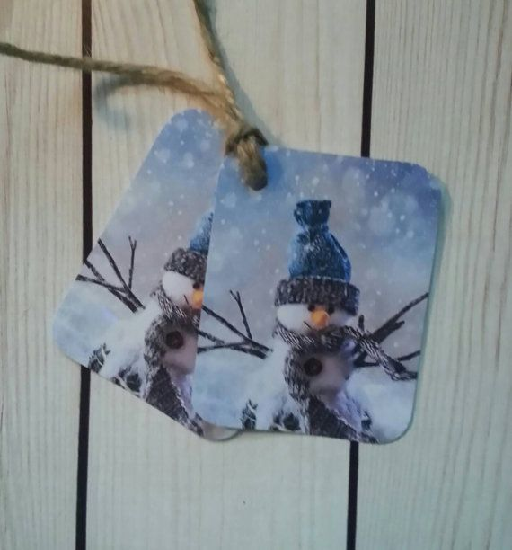Country Rustic Christmas Holiday Hang Tag Gift by TheKeepingRoom55