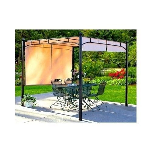 Pergola Gazebo Canopy Outdoor Sun Shade Awning Patio 8x8   This Will Fit  Perfect On Our