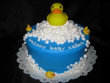 rubber duck birthday cakes  bing images  birthday cake  party, Baby shower invitation