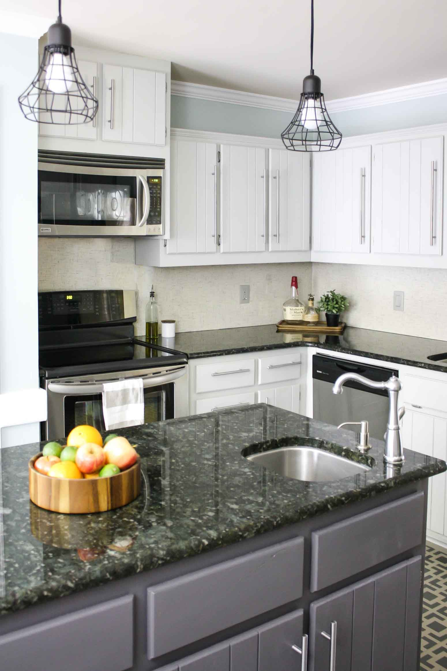 How to paint kitchen cabinets no paintingsanding tutorials