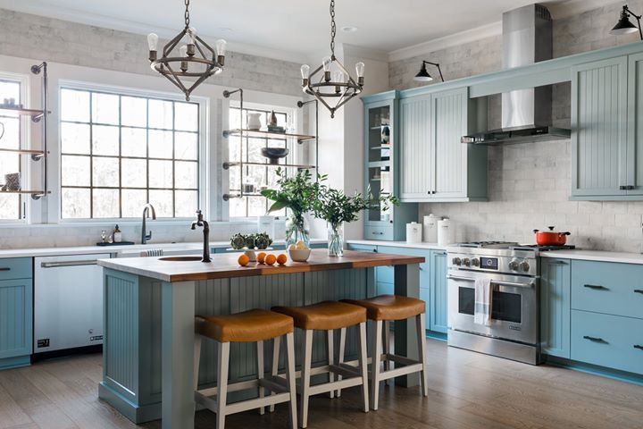 Best Hgtv Dream House Kitchen Debonair Sherwin Williams Blue 400 x 300