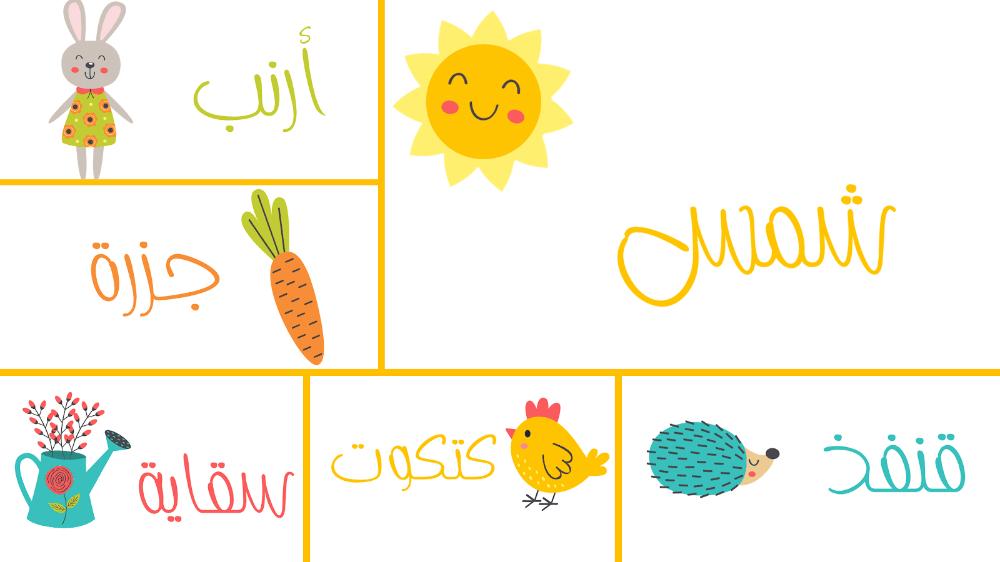 بوربوينت عن رياض الأطفال وتعليم نطق الأسماء Kids Learning Learning Kids