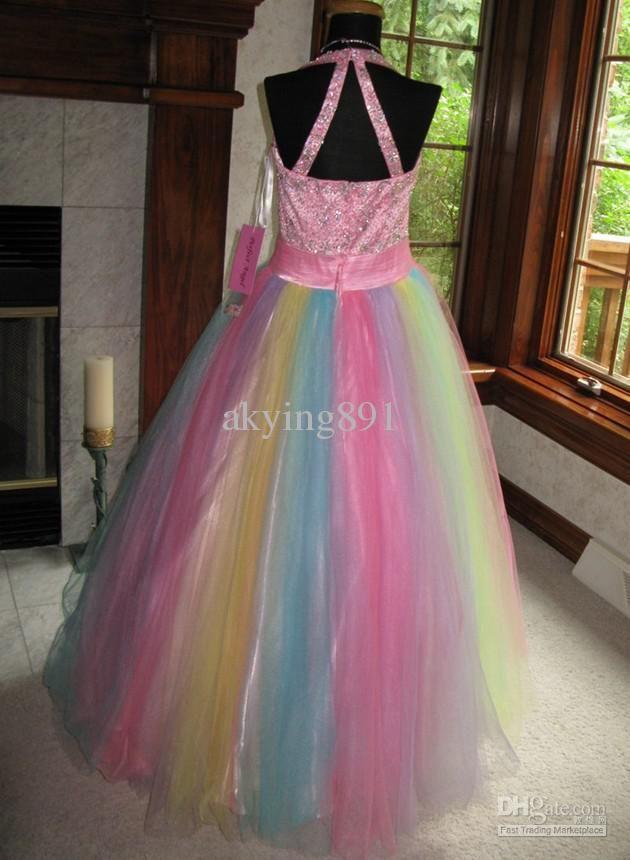 Wedding rainbow dress for sale new photo