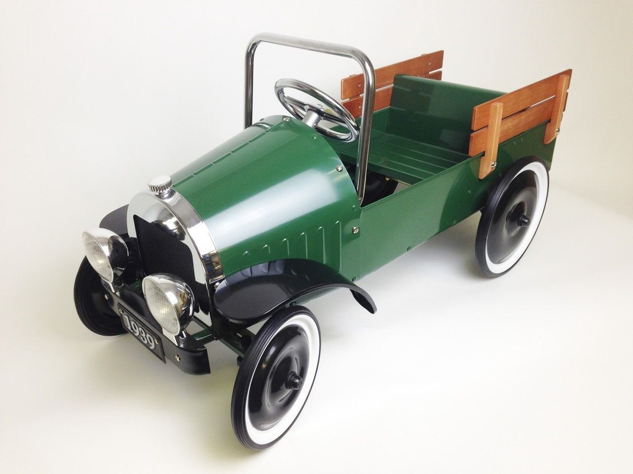 Mini jeep car toys  CLASSIC JALOPY PICKUP TRUCK PEDAL CAR  GREEN  Pick Up Truck