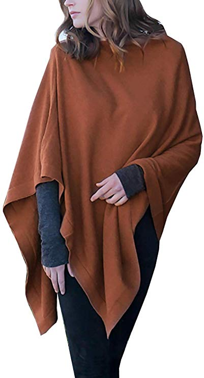 Viottiset Womens Tassel Hem Crew Neck Knitted Cardigan Wrap Sweater Coat Outwear
