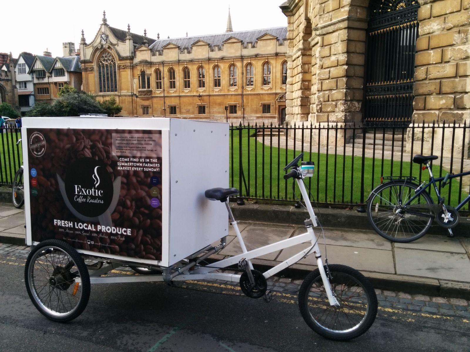 Rickshaw Delivery Cargo Bike Trike Ebay Cargo Bike