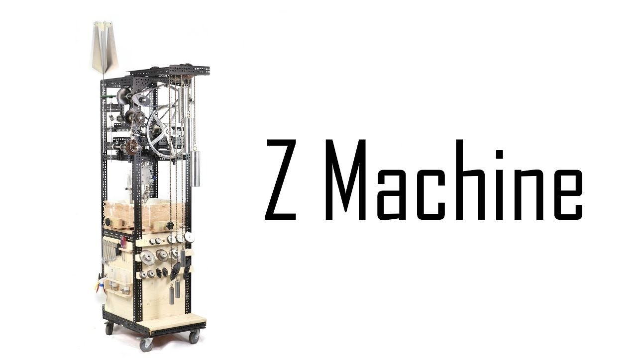Z Machine The Fully Mechanical 3D Printer 全機械3D印表機