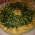 Pasta brisee con spinaci e ricotta