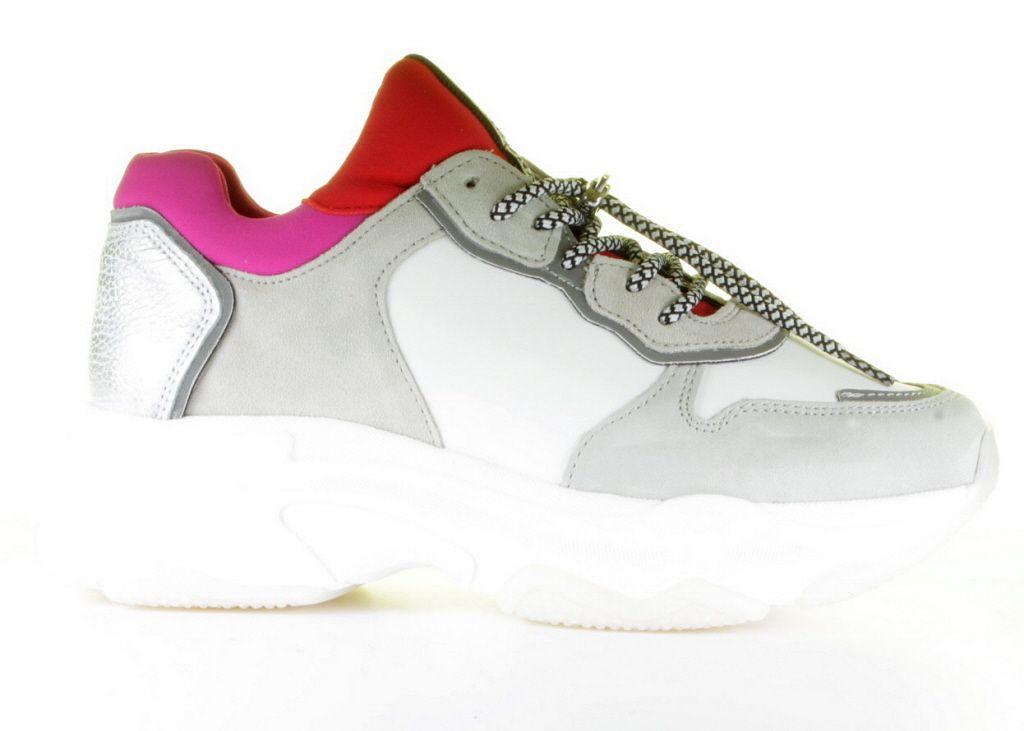 67e02a1b175 Bronx, 66167-A2298, Sneaker, Pink, White, Red, Fashion, Trend 2018 ...