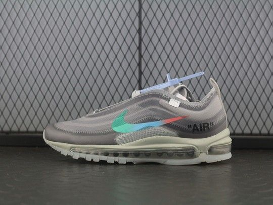 premium selection a30a0 2304e OFF WHITE X Nike Air Max 97 Wolf Grey Menta AJ4585-012