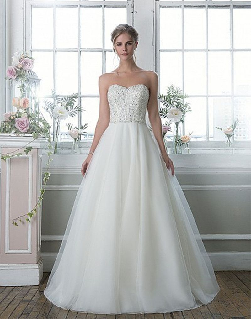 Find More Wedding Dresses Information about Juliana Luxury Crystal A ...