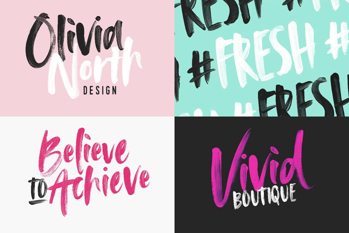 Avallon Opensvg Font Brush Font Photoshop Fonts New Fonts