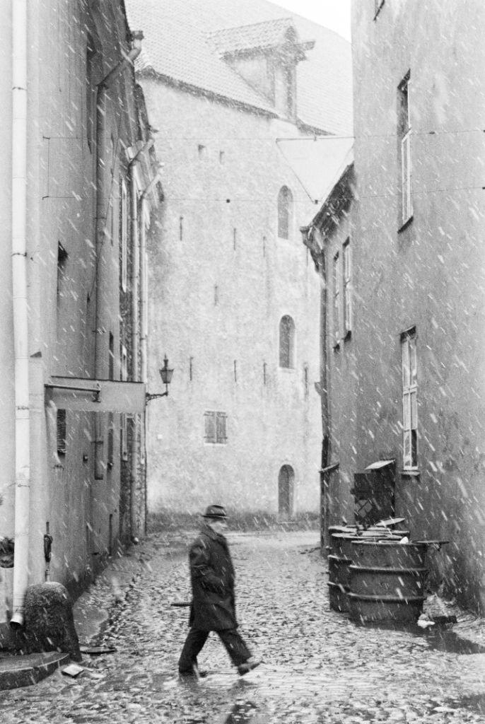 Old Tallinn. 1983 by Igor Palmin