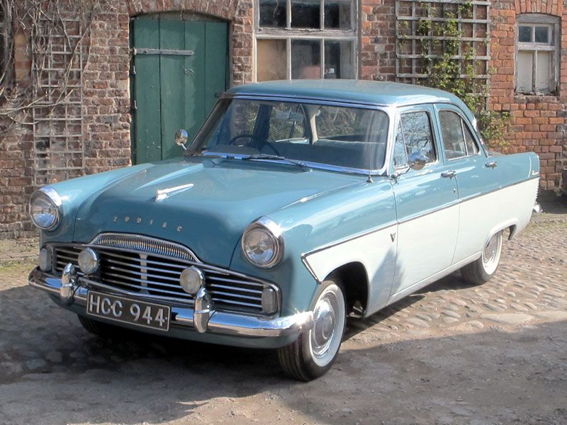 1960 Ford Zodiac Maintenance Restoration Of Old Vintage Vehicles The Material For New Cogs Casters Gears Pads Old Classic Cars British Cars Ford Classic Cars
