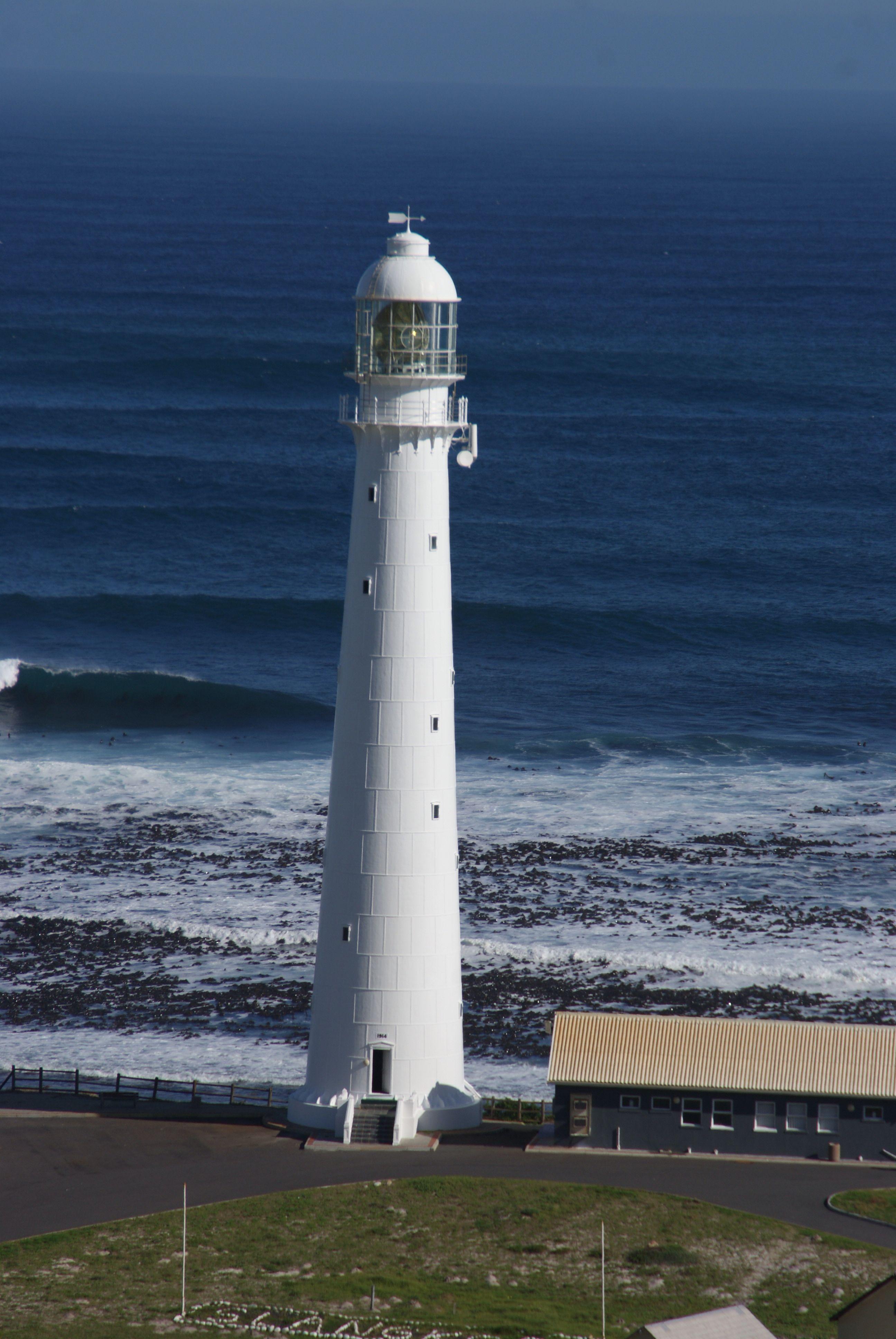 Slangkop Lighthouse Near Kommetjie In The Western Cape