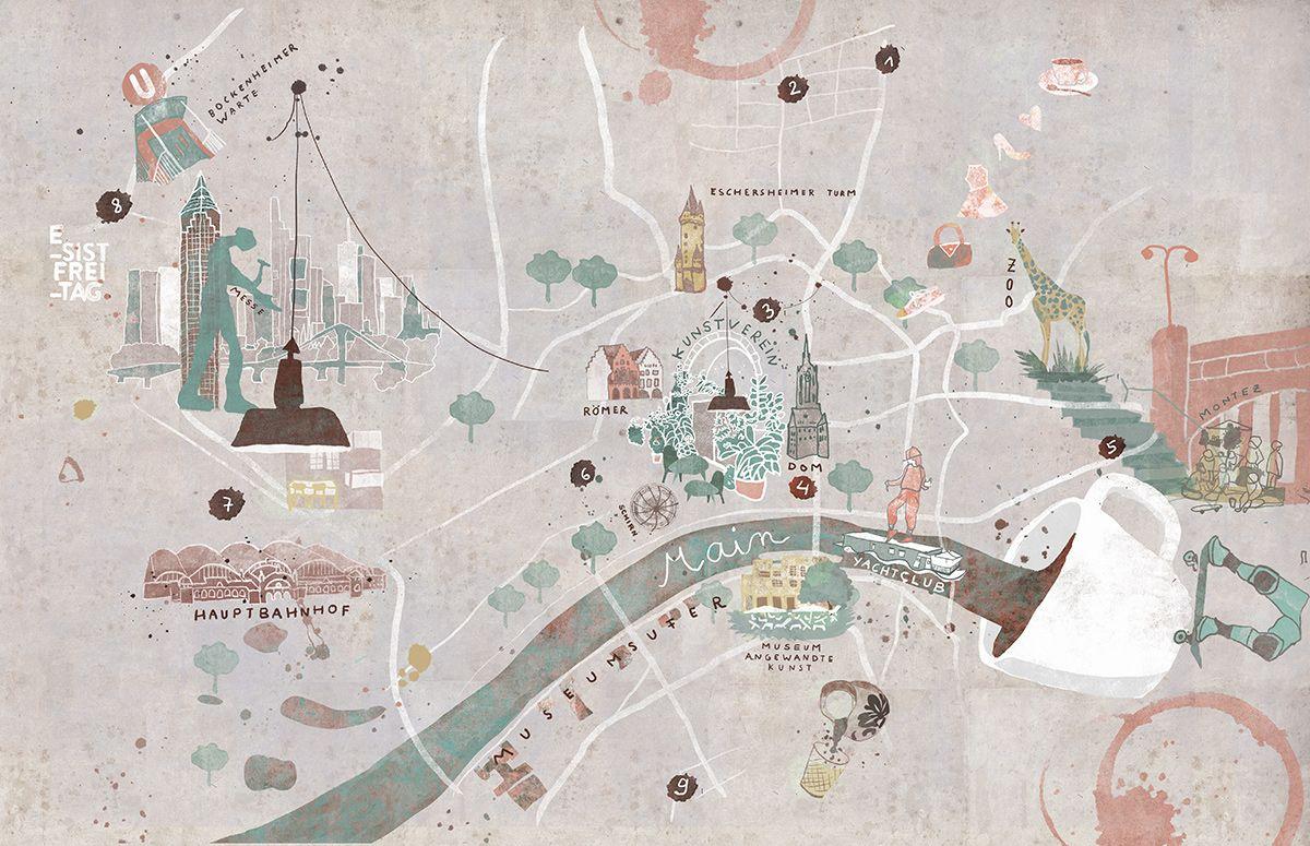 Pin Von Saav Aage Auf Projekte In 2020 Illustrierte Karten Illustrator Illustration