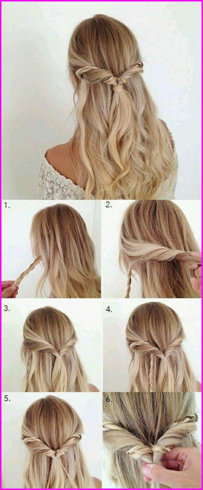 ▷ 11 + Ideen für schöne Haarfrisuren Plus Anleitungen zum