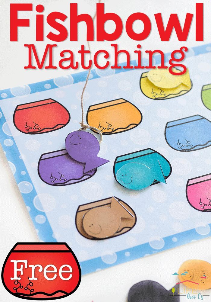 Pin On E C Prek Thematic Studies Color matching activities for preschool