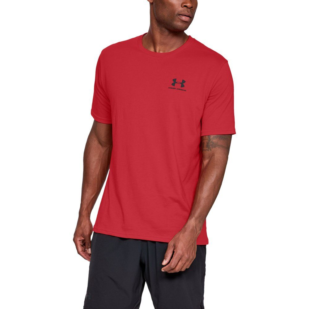 08f1ee7f34 Under Armour Mens Sportstyle Left Chest - Black LG | Products ...