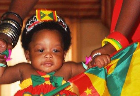 Grenada baby in Caribbean Connection USA