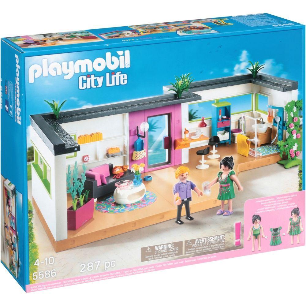 Playmobil City Life Guest Suite 287 Pieces 5586 Playmobil Playmobil Playmobil City Jeux Playmobil