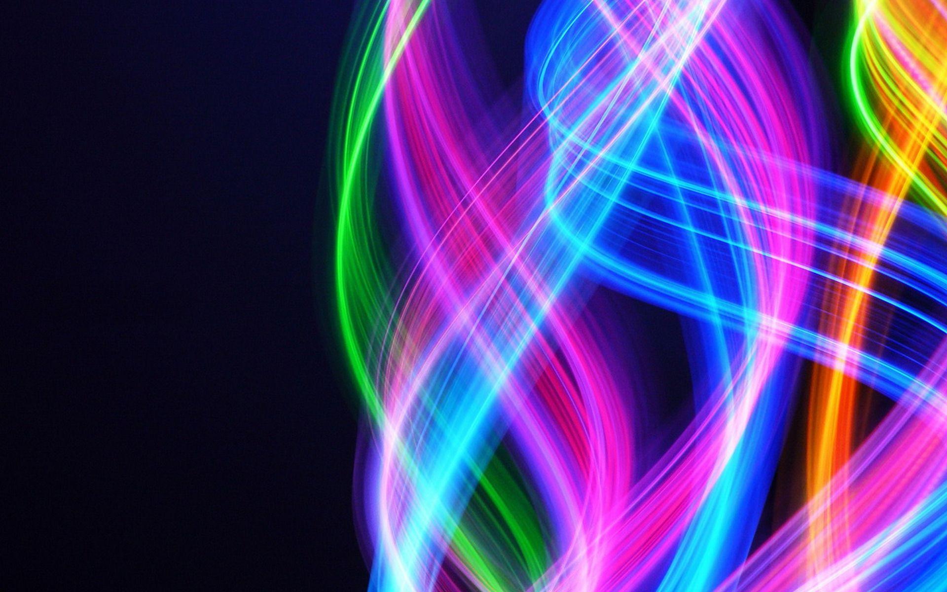 Fondos de pantalla 3d neon