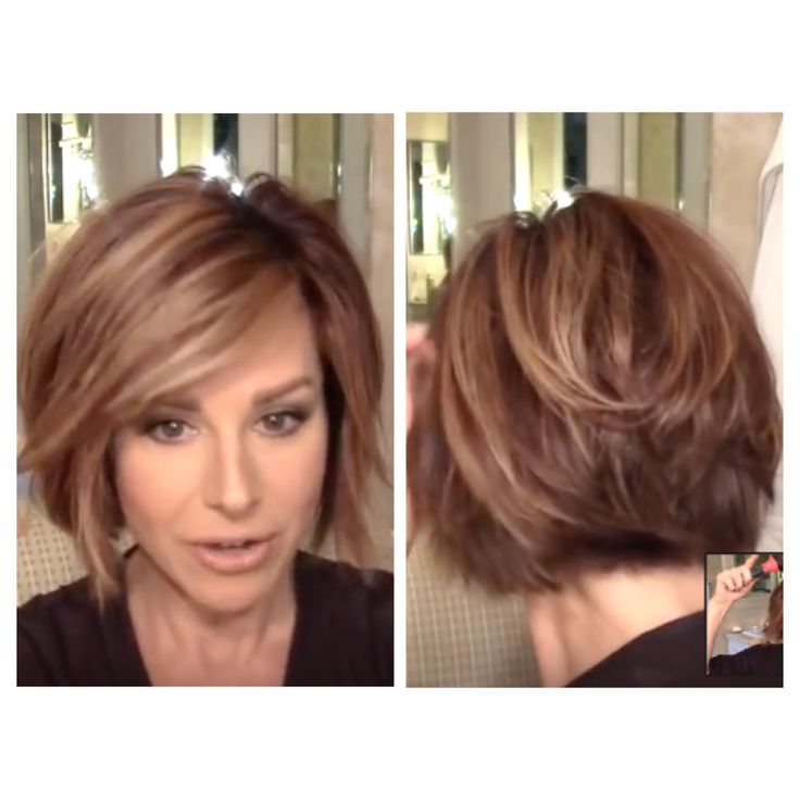 Dominique Sachse Back View Of Short Haircut | pin on bobs
