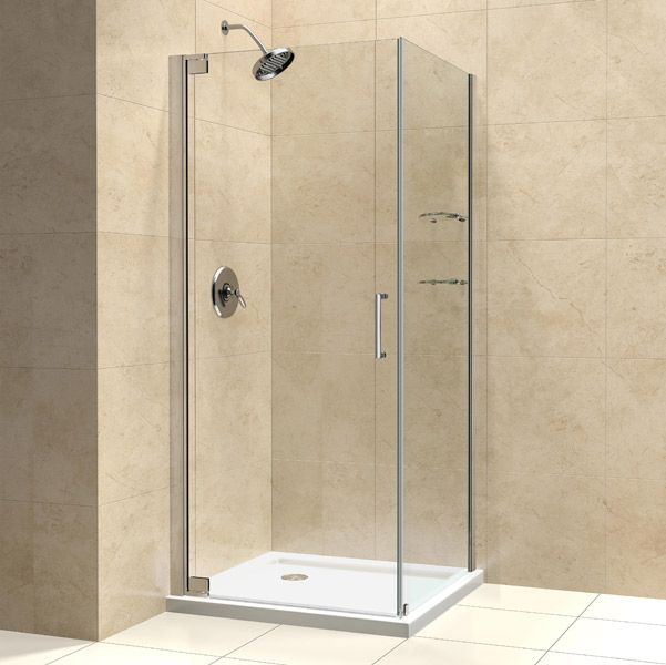 Dreamline Shen 4130301 Elegance 30 In By 30 In Frameless Pivot
