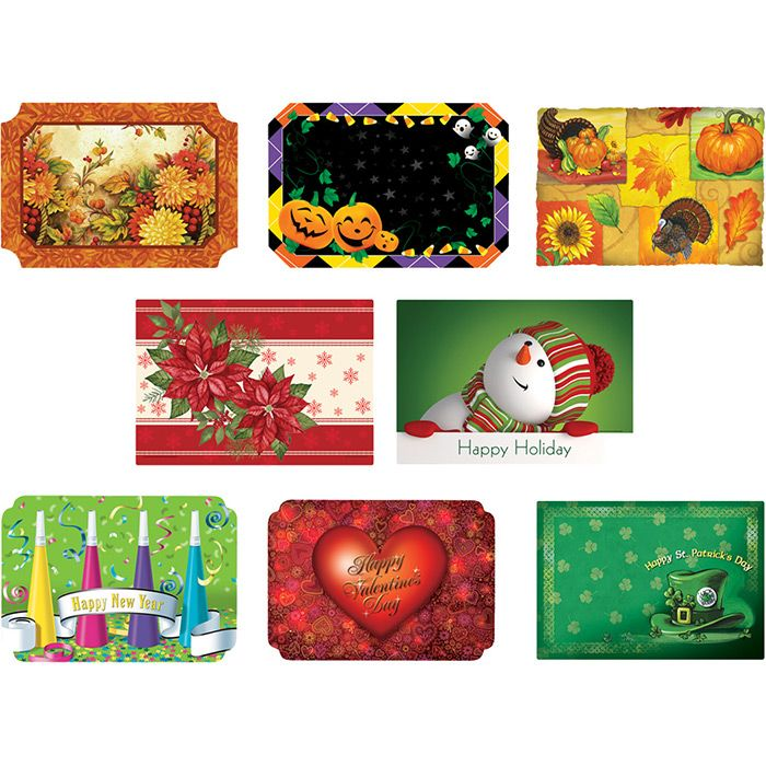 Bulk Autumn Placemats Amp Winter Placemats Napkins Com Fall Placemats Hobbies And Crafts Holiday Paper
