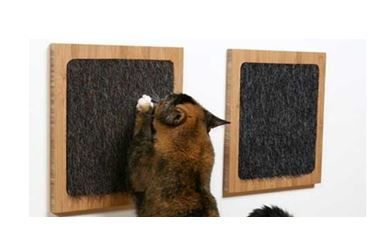 diy fabriquer un griffoir pour chat simple. Black Bedroom Furniture Sets. Home Design Ideas