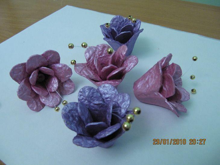 Como Hacer Flores con material reciclado | Manualidades