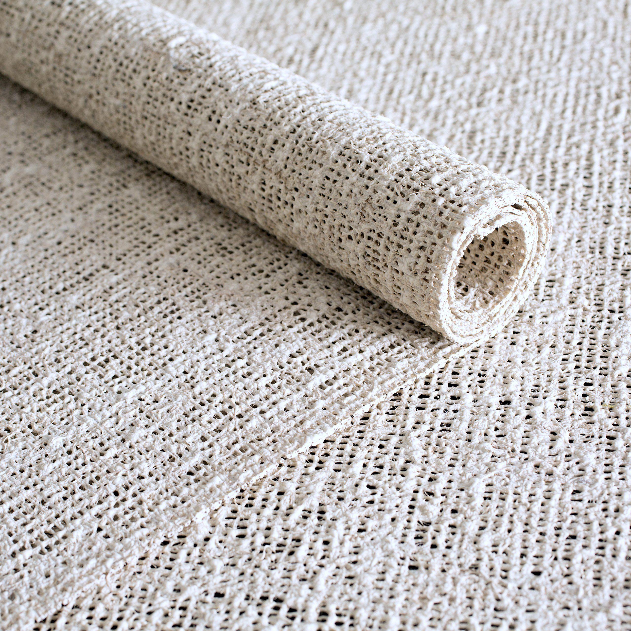 rug pad usa nature's grip ecofriendly jute  natural rubber non  - rug pad usa nature's grip ecofriendly jute  natural rubber non
