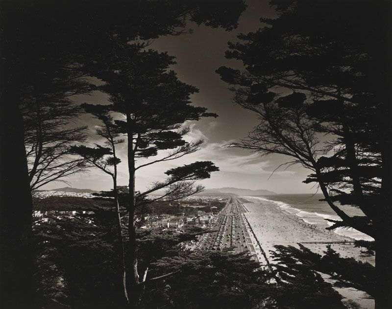 View South, San Francisco Beach Max Yavno, 1947