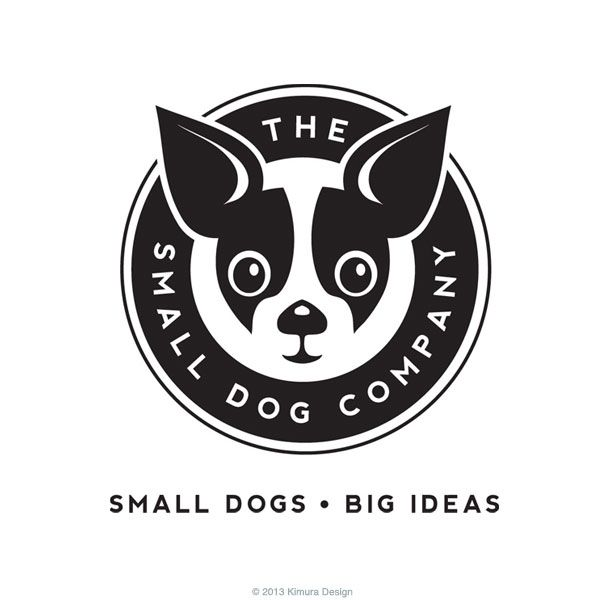 Logo design for The Small Dog Company. Tacoma, WA ...