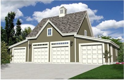 Emejing 4 Car Garage With Apartment Pictures - Decorating Ideas ...
