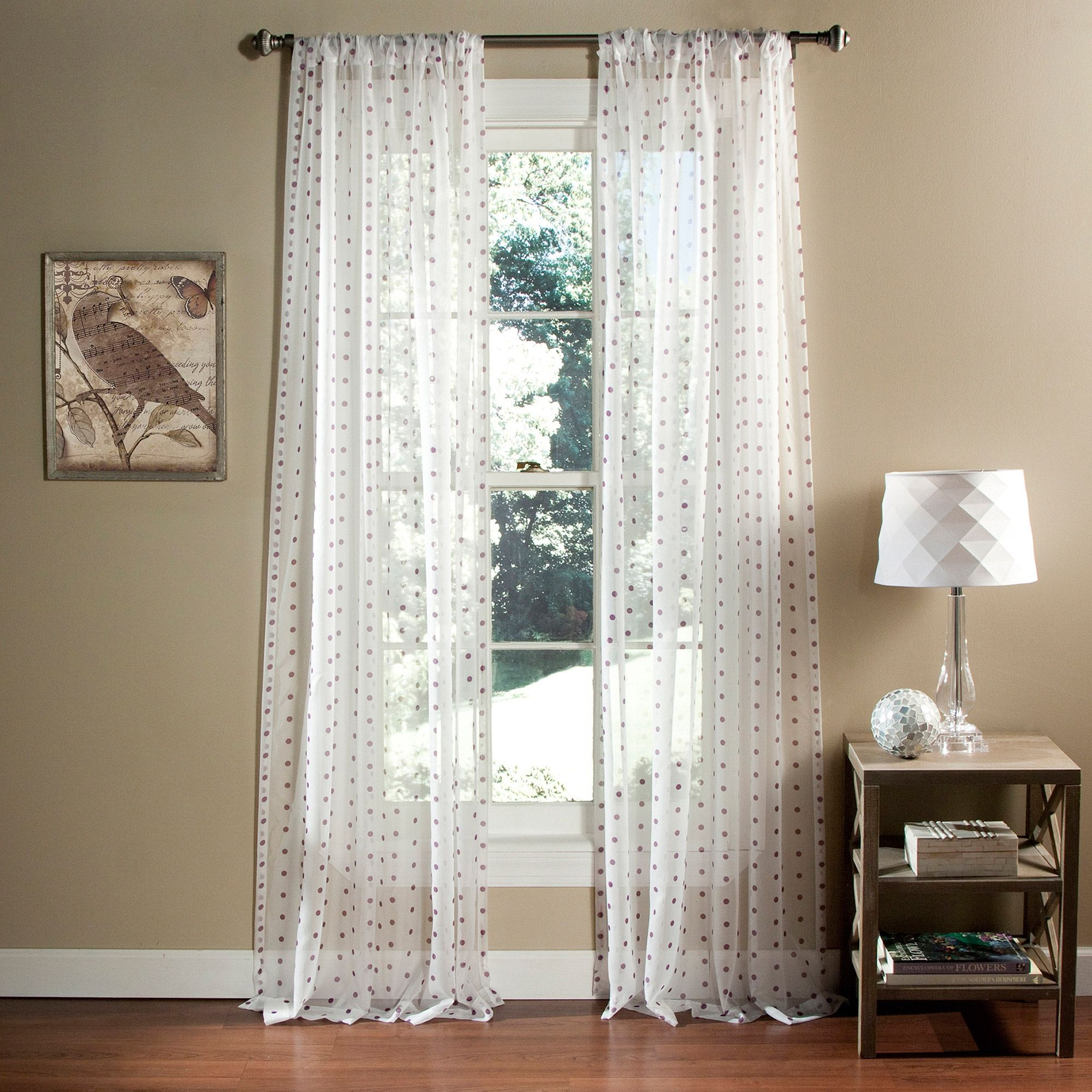 Colorful sheer window curtains realtagfo pinterest