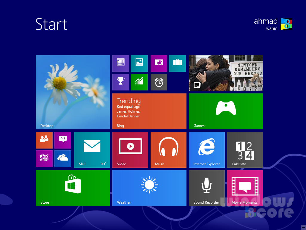 Windows 8.1 will include the option to update the apps