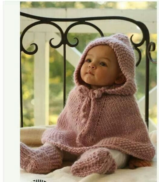 Baby poncho | My babies | Pinterest