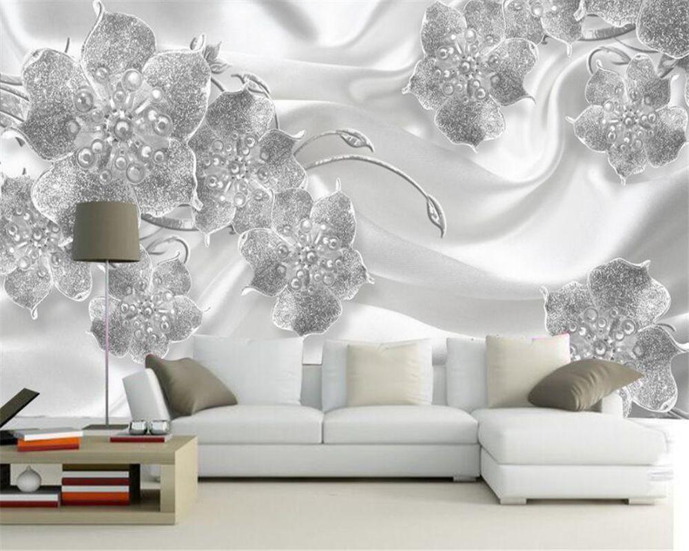 Beibehang Custom Wallpaper Living Room Bedroom Mural Modern Simple ...