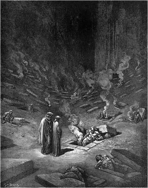 dante s real life inferno The real-life poet was well respected by dante  it is ironic that this portion of dante's divine comedy is titled inferno, because it is in essence a misnomer.