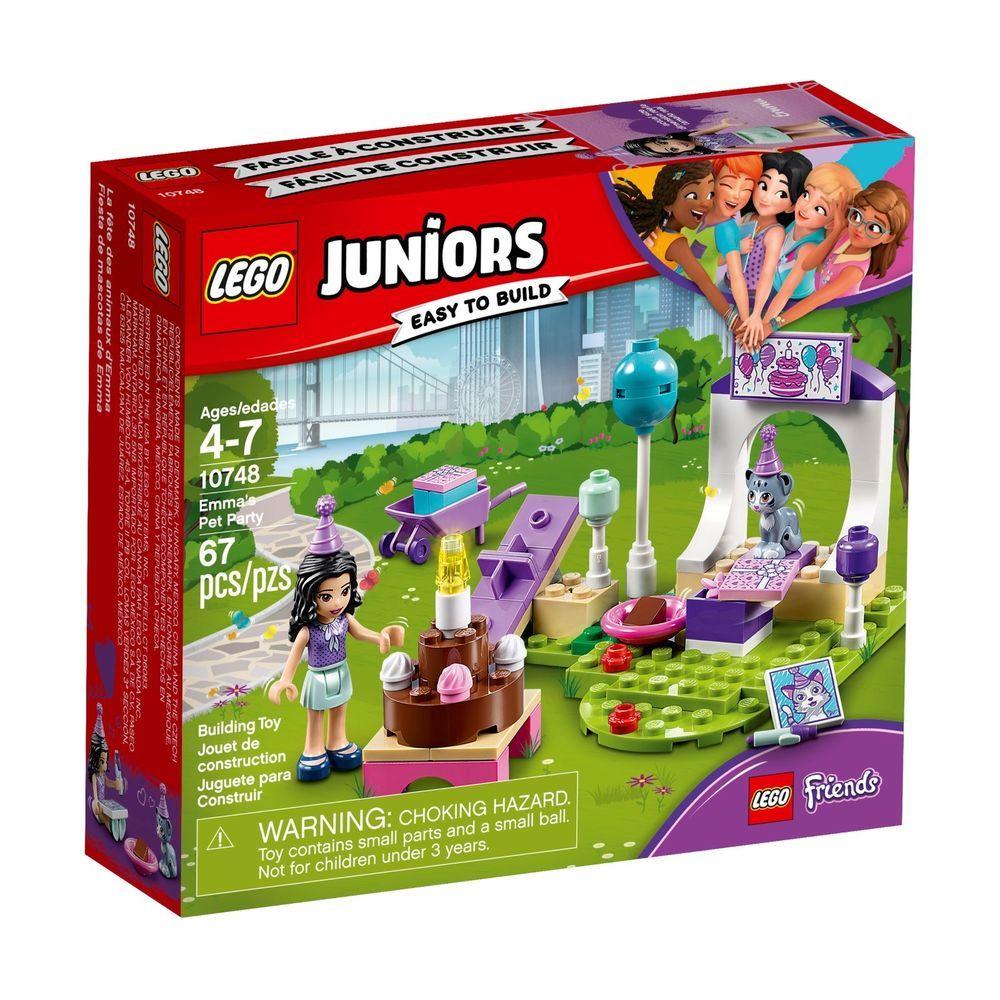 LEGO JUNIORS FRIENDS 10748 Emma/'s Pet Party NISB New /& Sealed