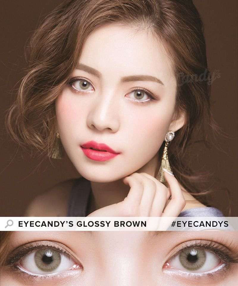 10a4877963d Looking for the most natural colored contacts  With the EyeCandy s Glossy  Series