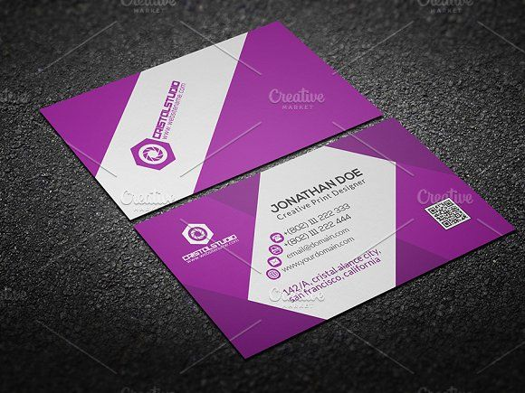 easy business card template