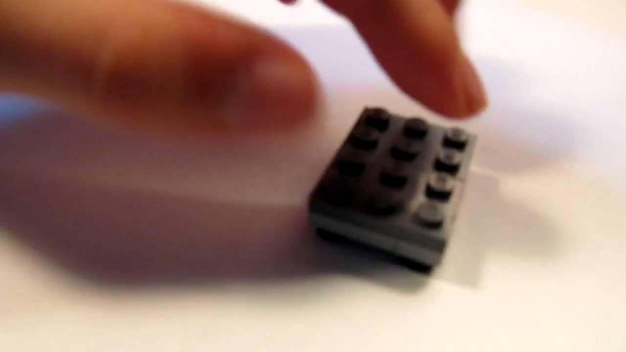 Tutorial: Lego Armchair