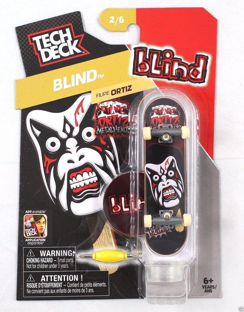 Tech Deck Blind Filipe Ortiz 2/6 TechDeck Tech deck